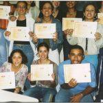 Certificado entregue após o curso