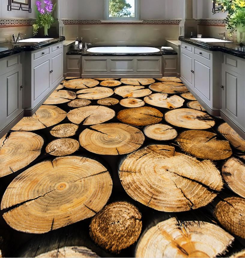 Cais-de-madeira-anel-hd-piso-vinly-piso-3D-papel-de-parede-3d-quarto-papel-de