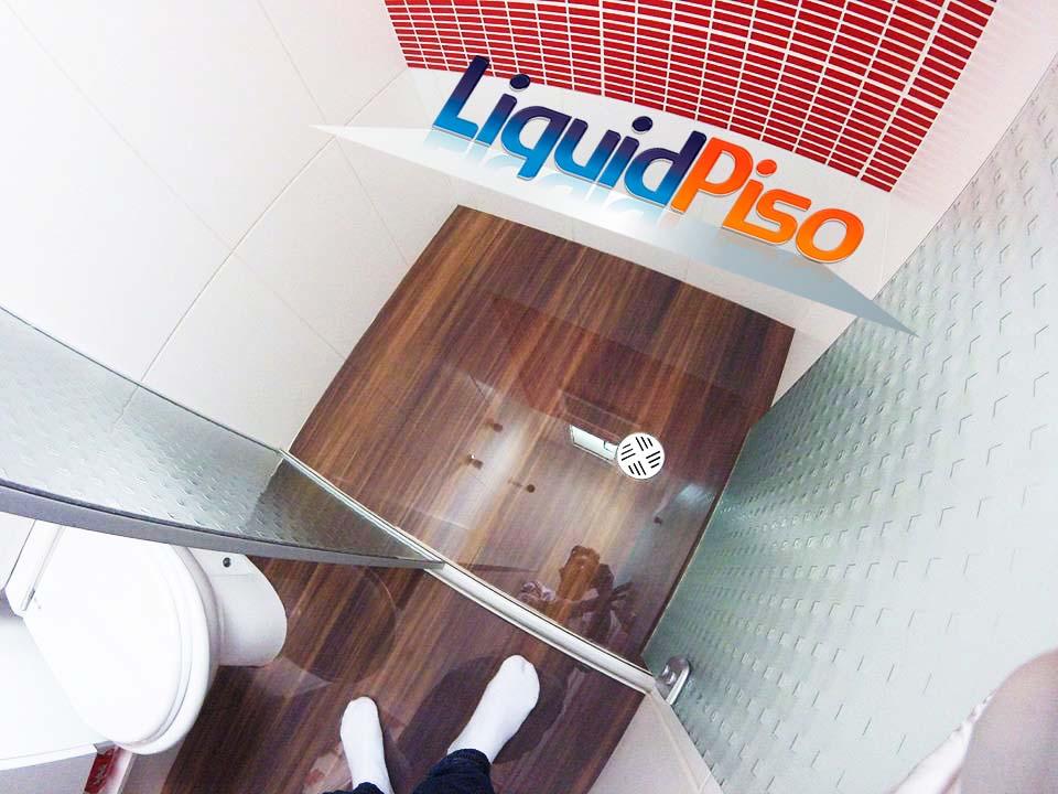 porcelanato liquido efeito madeira