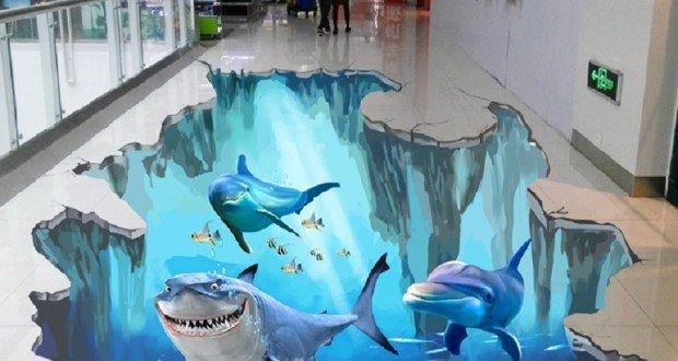 Porcelanato liquido piso decorativo curso aplica o for Pisos decorativos 3d
