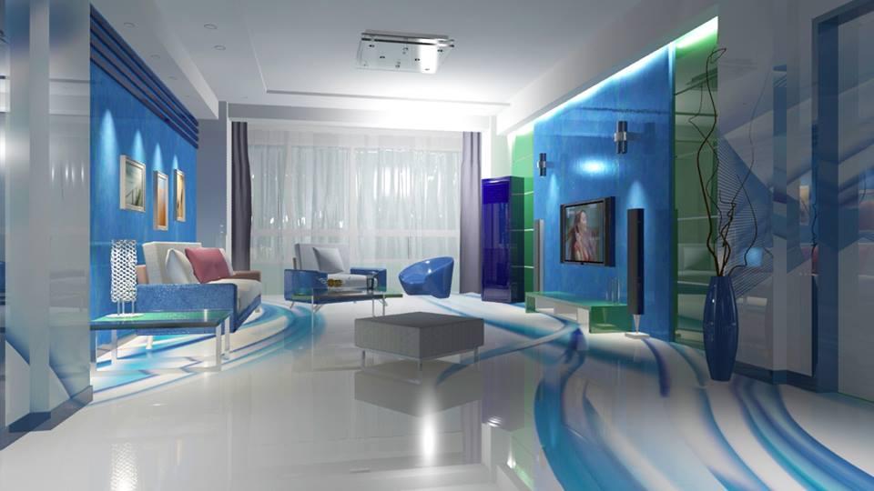 Recepção Hotel Porcelanato Líquido