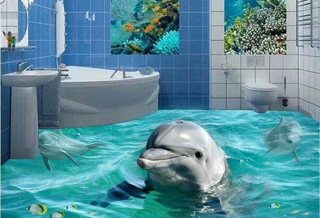 LiquidPiso Golfinhos