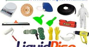 kit ferramentas porcelanato liquido