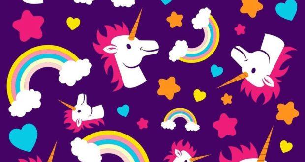Papel de Parede Unicornio