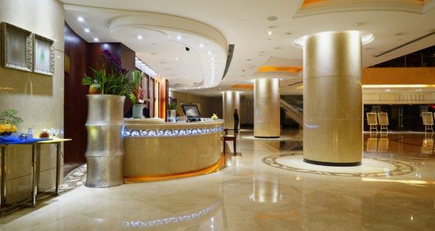 Porcelanato Líquido Recepção Hotel