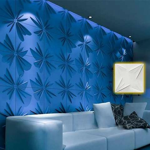 Gesso 3d azul