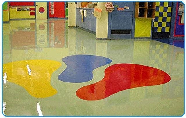 Escola Porcelanato liquido