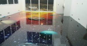 LiquidPiso 3d Galáxia