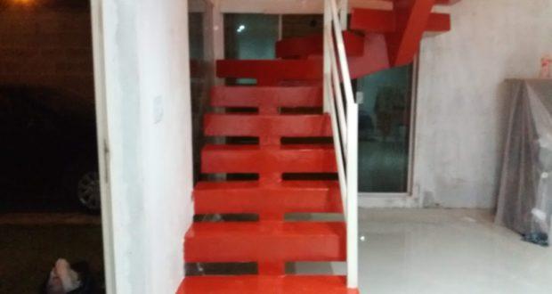 LiquidPiso Escada Vermelha