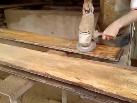 Lixar a madeira