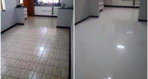 LiquidPiso antes e depois